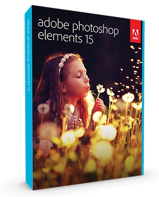 Photoshop Elements 15 box