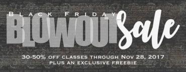 Black Friday Blowout Sale