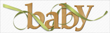 Custom Shadowing–Weaving a Curly Ribbon Through Word Art
