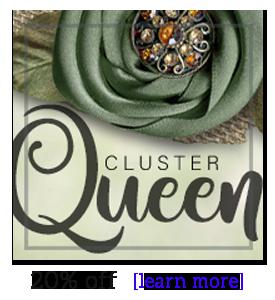 Cluster Queen -- 20% off
