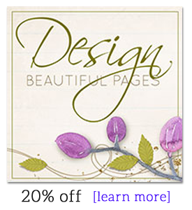 Design Beautiful Pages -- 20% off