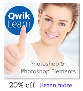QwikLearn Photoshop Elements -- 20% off