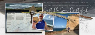 Resetting Rectangular Sign Perspective for Scrapbooking