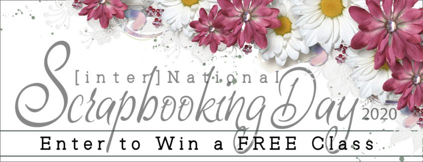 [inter]National Scrapbook Day 2020 — Enter to Win