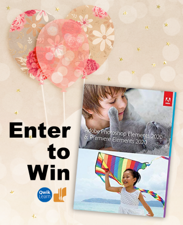 Enter to Win Photoshop Elements 2020
