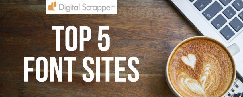 Top 5 Font Sites