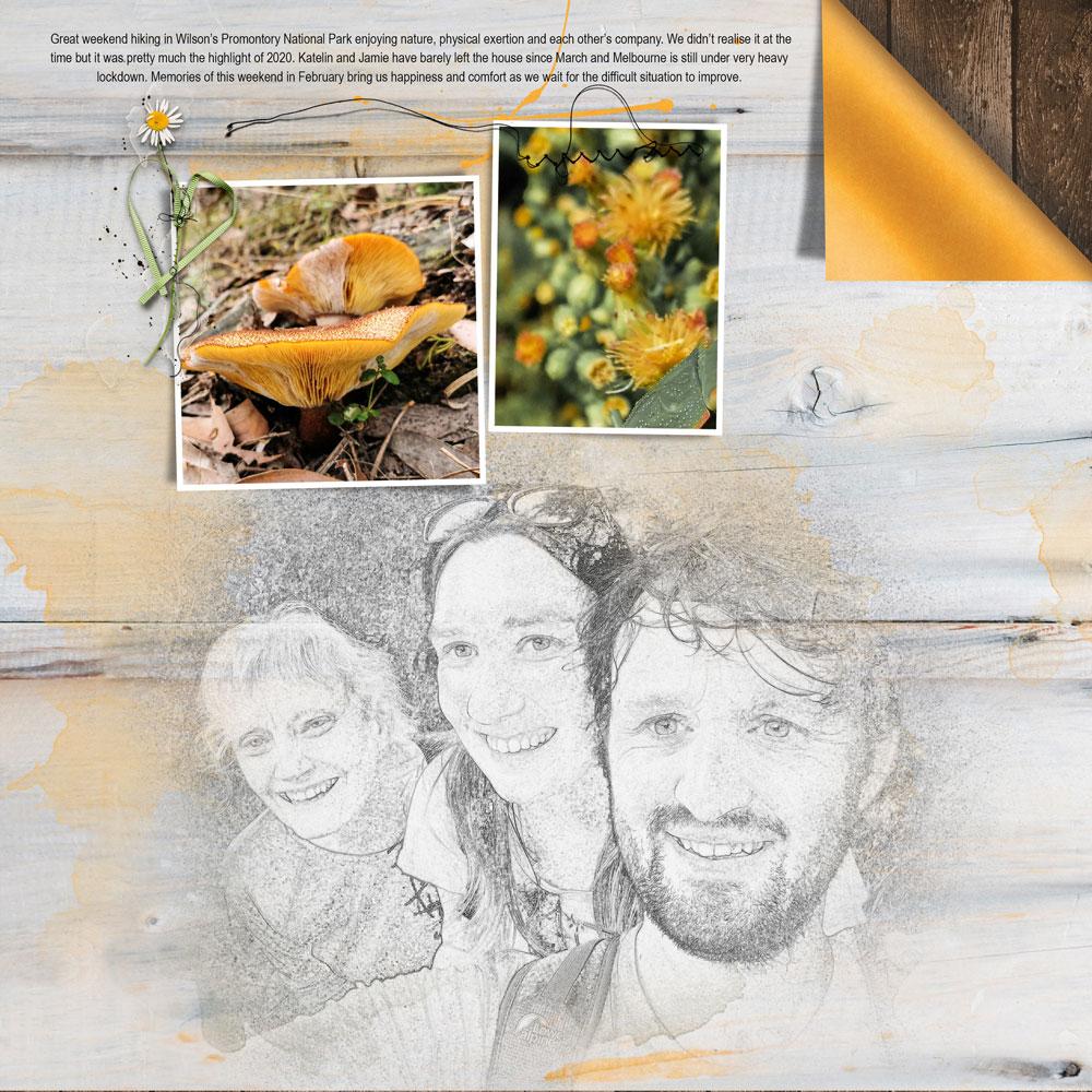 Page: Felicity Farnsworth Photos: J Glessal and F Farnsworth Templates & Kits: Anna Aspnes, Rachel Martin, Connie Price, Elif Sahin