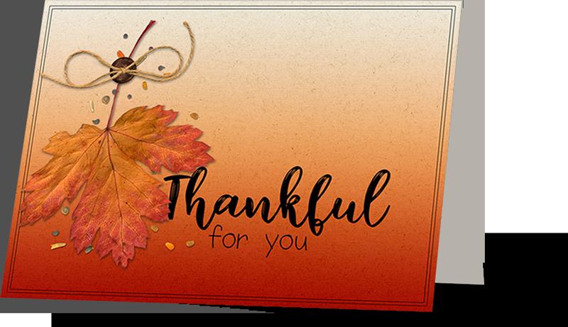 Card: Julie Singco Kit: Autumn Days by Kristin Cronin-Barrow Fonts: Lush Garden, Sorbet LTD