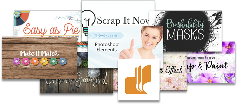 Enter to win a FREE CLASS from Digital Scrapper   QwikLearn (up to $97 value)