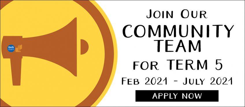 Community Team Call — Term 5