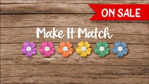 25% off Make It Match by Jenifer Juris through May 2, 2021