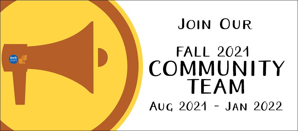 Community Team Call — Fall 2021